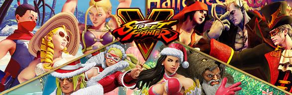 Street Fighter V - 2016 Seasonal Costume & Stage Bundle on