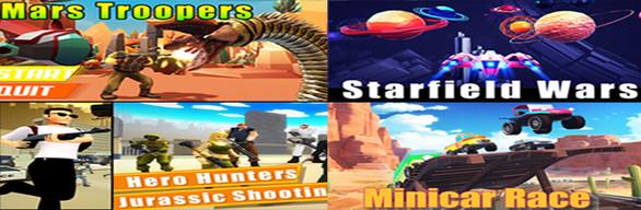 Super 3D Shooting & Racing Games