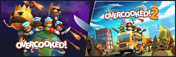 Save 59% on Overcooked! 1 & 2 Bundle on Steam
