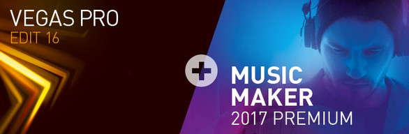 Tiết kiệm đến 37% khi mua VEGAS Pro 16 Edit + MAGIX Music Maker