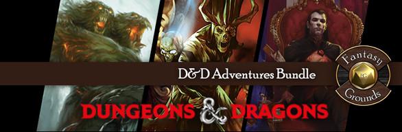 Fantasy Grounds D&D Adventures Bundle