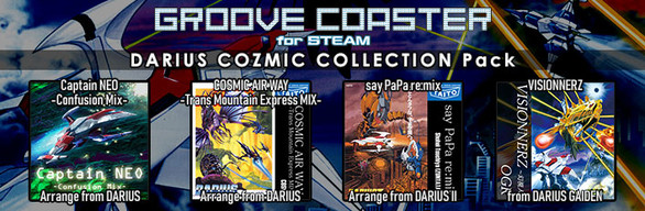 Groove Coaster - DARIUS COZMIC COLLECTION Pack