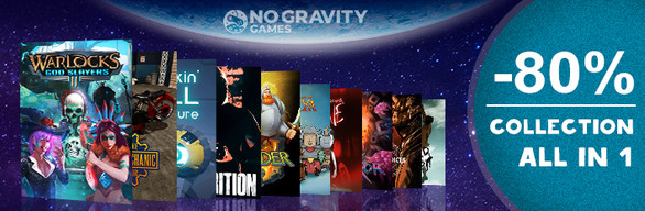 No Gravity Games Collection ALL in 1