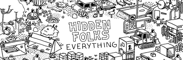 Hidden Folks EVERYTHING