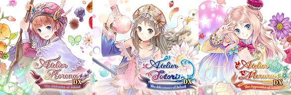 Atelier Arland series Deluxe Pack - アトリエ ~アーランドの錬金術士1・2・3~ DX