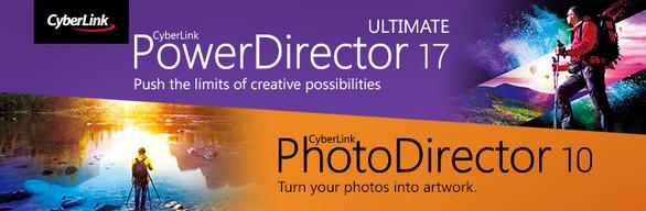 CyberLink PowerDirector 17 Ultimate + PhotoDirector 10 Ultra Duo