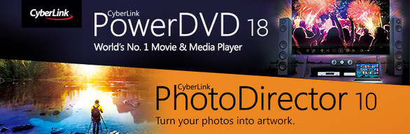 CyberLink PowerDVD 18 Ultra + PhotoDirector 10 Ultra