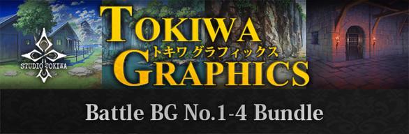 RPG Maker MV - TOKIWA GRAPHICS Battle BG No.1-4