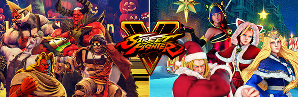 Street Fighter V - 2017 Halloween and Holiday Costumes Bundle