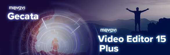 Movavi Video Editor 15 Plus + Gecata by Movavi - Game Recorder