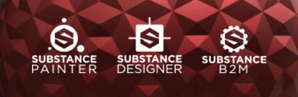 Substance Painter + Designer + B2M (Bundle)