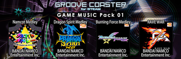 Groove Coaster - GAME MUSIC Pack 01
