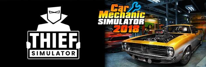 Car Mechanic Simulator 2018 Thief Simulator V Steam