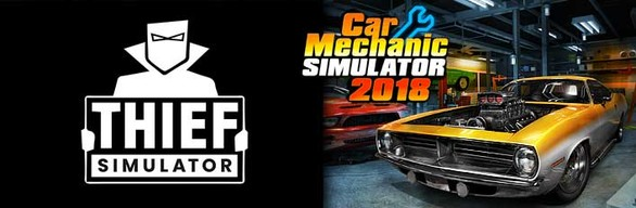 Car Mechanic Simulator 2018 & Thief Simulator