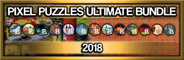 Pixel Puzzles Ultimate: 2018 Jigsaw Collection