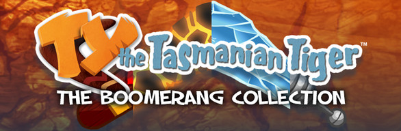 TY the Tasmanian Tiger - The Boomerang Collection
