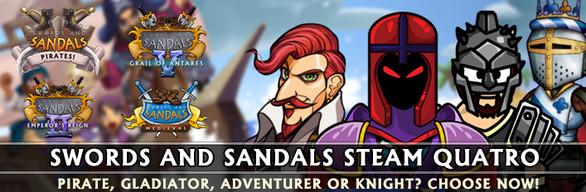 Swords and Sandals Quatro
