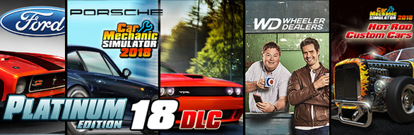 Car Mechanic Simulator 2018 Platinum Edition Bundleid 9758