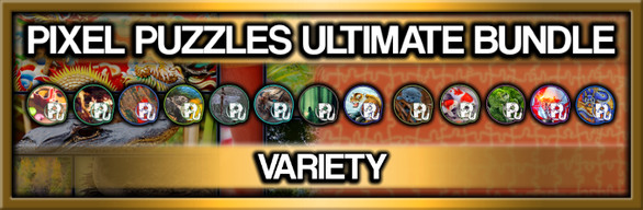 Pixel Puzzles Ultimate Jigsaw Bundle: Variety