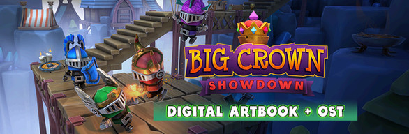 Big Crown: Showdown Art Book & OST