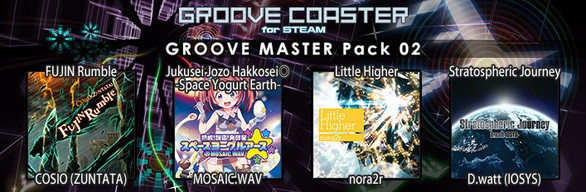 Groove Coaster - GROOVE MASTER Pack 02