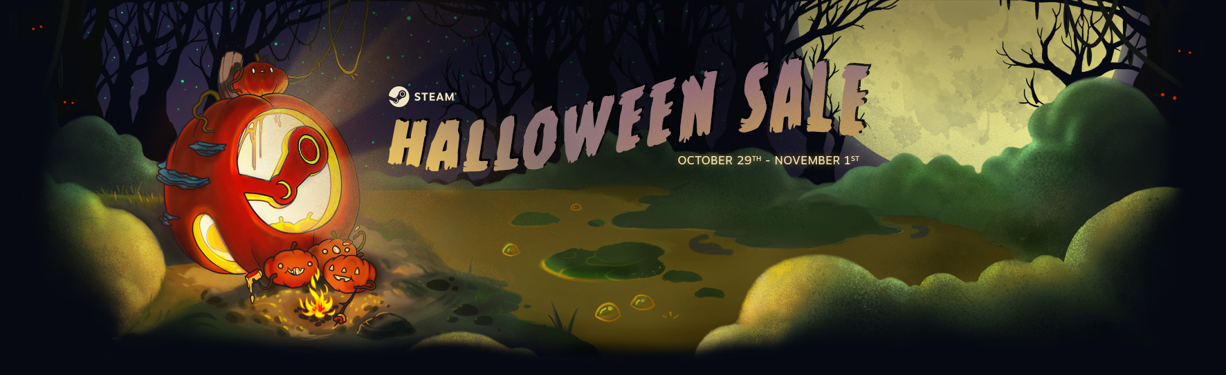 ended] steam halloween sale 2018 (please share your thought