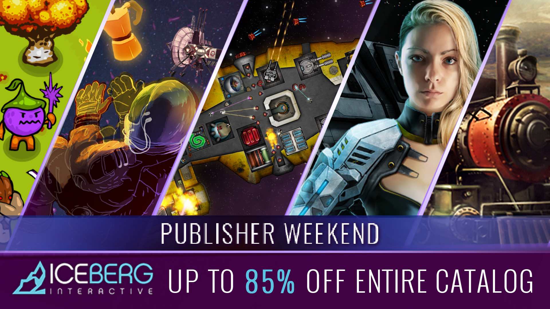 PC Games: [STEAM] Weekend Deal: Iceberg Publisher Sale: Circle Empires (40% off), Tech Support: Error Unknown (50% off), Pax Nova (33% off), Conarium (75% off), Nuclear Dawn (85% off), Into the Stars (80% off), Oriental Empires (75% off) and more