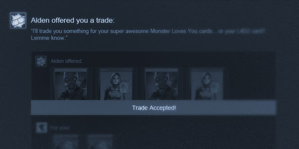 News - New Steam Trading Feature - Trade Offers