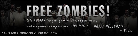 News - Left 4 Dead 2 - FREE Today Only!