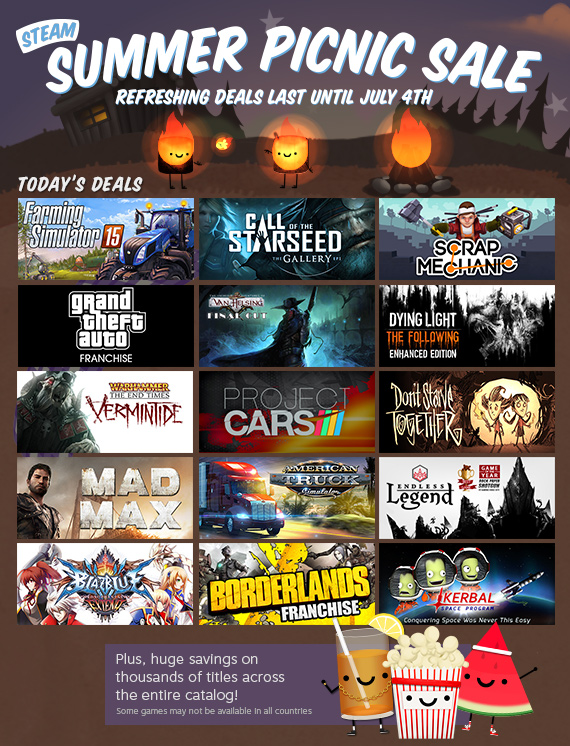 News - Steam Summer Sale - Day 9