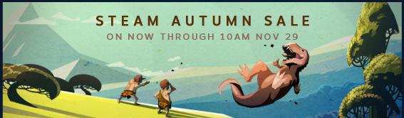 Promoção de Outono Steam