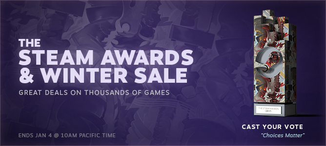News - Steam Winter Sale 2017 Starts Now! Plus, Vote For The Steam
