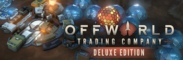 Offworld Trading Company Deluxe Edition cover art