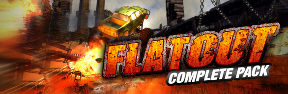 Flatout Complete Pack cover art