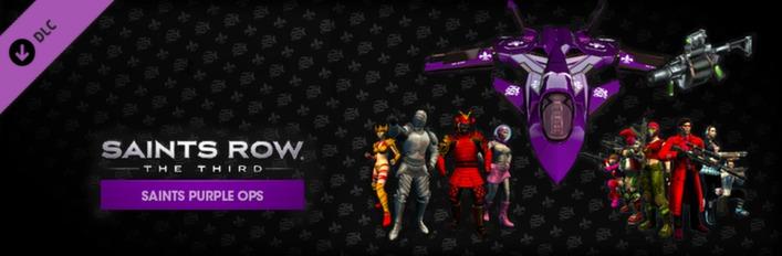 Saints Row: The Third - Saints Purple Ops Pack