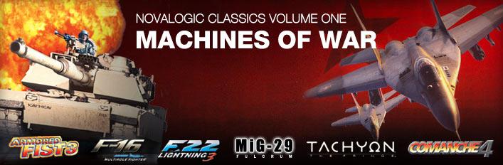 Novalogic Classics Volume One: Machines of War