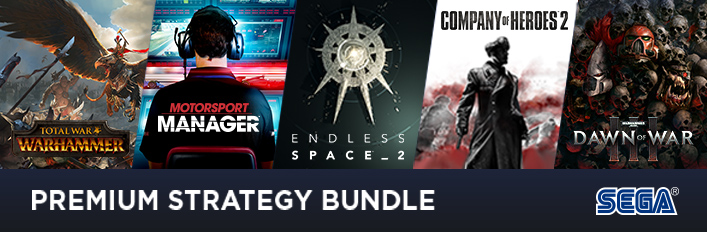 SEGA Premium Strategy Bundle