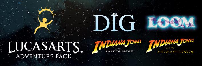 LucasArts Adventure Pack
