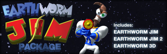 Earthworm Jim Collection cover art