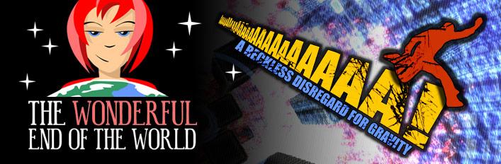 AaaaaAAaaaAAA!!! + The Wonderful End of the World