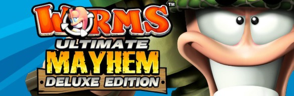 Worms Ultimate Mayhem - Deluxe Edition cover art