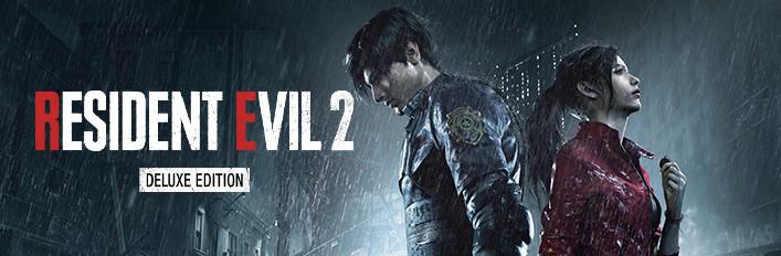 RESIDENT EVIL 2 / BIOHAZARD RE:2 Deluxe Edition