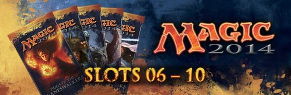Magic 2014 Sealed Slot 06-10