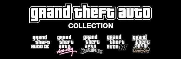 Купить GRAND THEFT AUTO COLLECTION