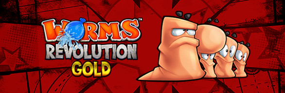 Worms Revolution Gold Edition cover art