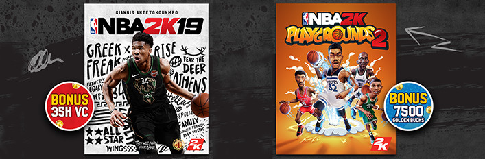 NBA 2K19 + NBA 2K Playgrounds 2