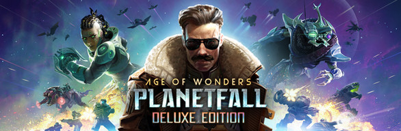 Age of Wonders: Planetfall Deluxe Edition cover art