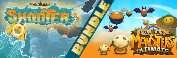 PixelJunk Monsters Ultimate + Shooter Bundle cover art