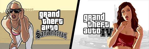 Grand Theft Auto IV + Grand Theft Auto: San Andreas