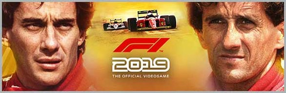 F1 2019 Legends Edition cover art